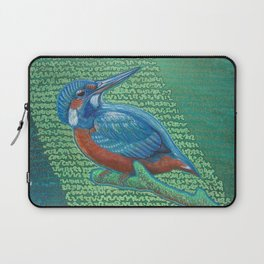 Kingfisher & Code (I KNOW It Means SOMEthing...) Laptop Sleeve