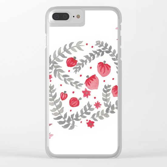 Spring vibes Clear iPhone Case