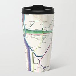 Itinéraires de train à grande vitesse de la France Travel Mug