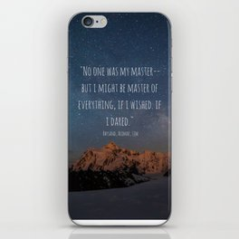 A Court Of Mist And Fury Quote, Velaris iPhone Skin
