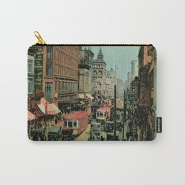 Montreal busy St. Catherine Street 1920s Carry-All Pouch