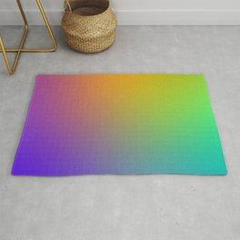 Pixel Color Gradient Rug