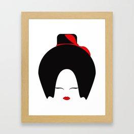 Kabuki Amelia Framed Art Print