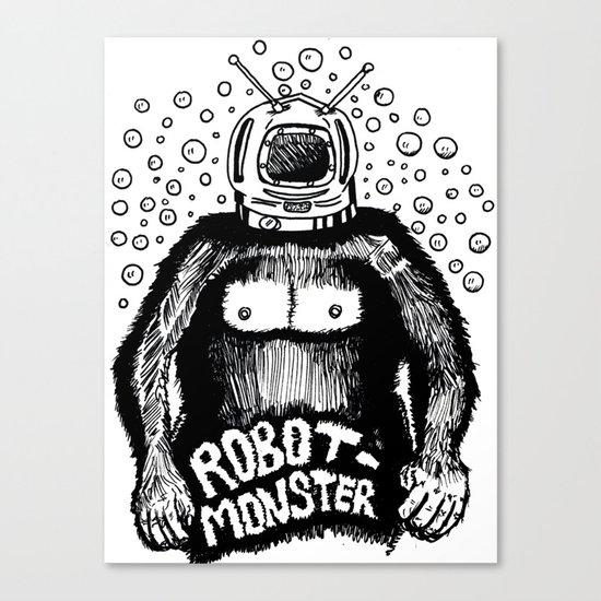 Robot-Monster Canvas Print