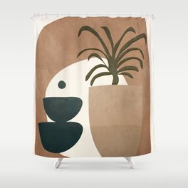 Abstract House Decoration Shower Curtain