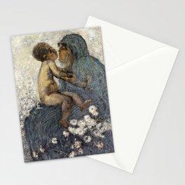 12,000pixel-500dpi - Gaetano Previati - Mother Love - Digital Remastered Edition Stationery Cards