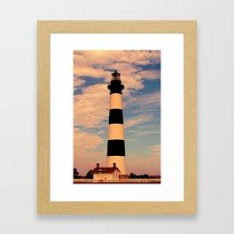 Bodie Lighthouse Framed Art Print