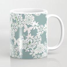 Papercut snowdrops Mug