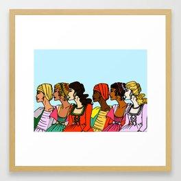 Criollas Framed Art Print
