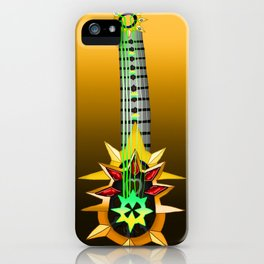 Fusion Keyblade Guitar #126 - Aubade & Omega Weapon iPhone Case