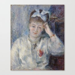 Portrait of Mademoiselle Marie Murer Canvas Print