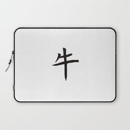 Chinese zodiac sign Ox Laptop Sleeve