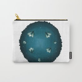 Dreamscape #4 (or Lightning Bugs in the Night Sky) Carry-All Pouch