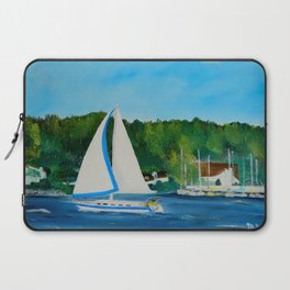 Come Sail Away Laptop Sleeve