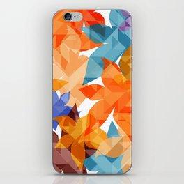 Geometric Floral II iPhone Skin