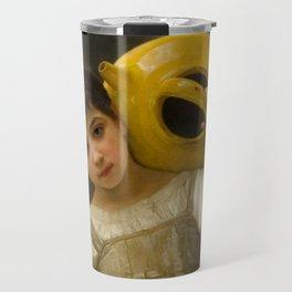 """William-Adolphe Bouguereau """"The Water Girl"""" Travel Mug"""