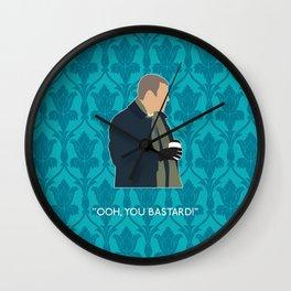 The Empty Hearse - Greg Lestrade Wall Clock