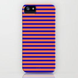 Vintage Beach Stripes iPhone Case