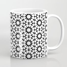 Arabesque in black and white Coffee Mug