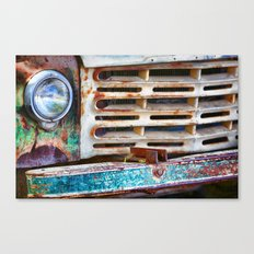 Colorful Grill Canvas Print