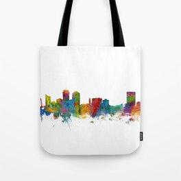 Wichita Kansas Skyline Tote Bag