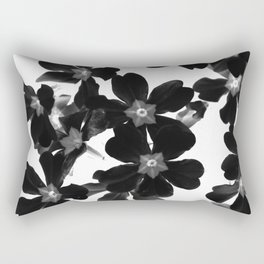 Primrose In BW Rectangular Pillow