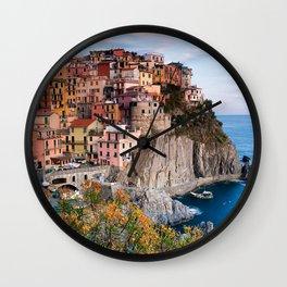 Italy Village Wall Clock