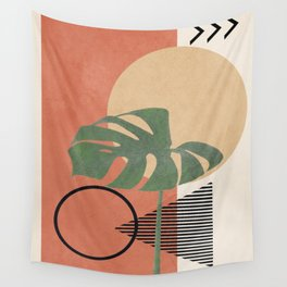 Nature Geometry I Wall Tapestry