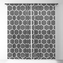 Honeycomb Sheer Curtain