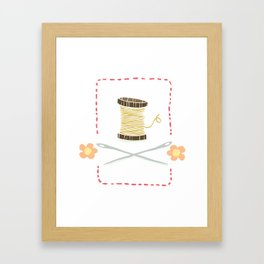 Sew it yourself Framed Art Print