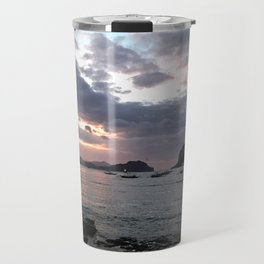 El Nido Sunset Landscape Travel Mug