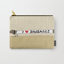 I love Sausages Carry-All Pouch