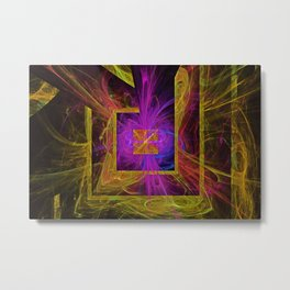 maze of no time Metal Print