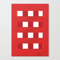 arsenal Canvas Prints featuring Arsenal FC. by Made by the Waves