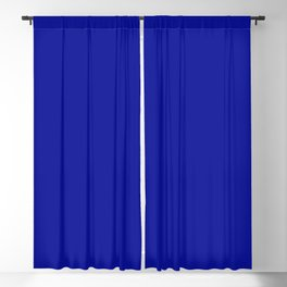 Simply Solid - Admiral Blue Blackout Curtain