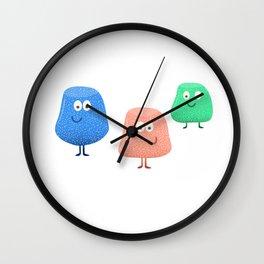 Gum Drops Set  Wall Clock