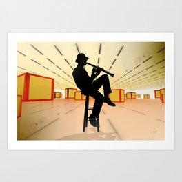 Cool Jazz 3 Art Print