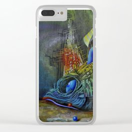 Fish-ship Clear iPhone Case