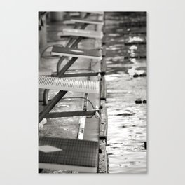 Starting blocks Canvas Print