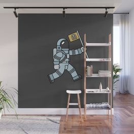 McAstronaut Wall Mural