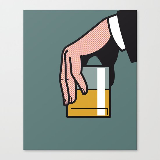 Pop Icon - Madmen 2 Canvas Print