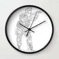 military Wall Clocks featuring Military Art by Dario Olibet