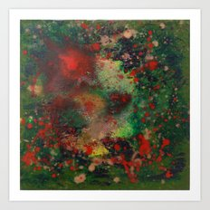 Biomorphic Pool 2 Art Print