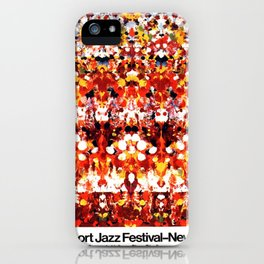 Vintage 1973 Newport Jazz Festival Poster iPhone Case