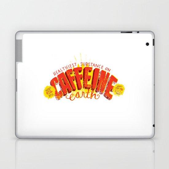 Caffeine Print Laptop & iPad Skin