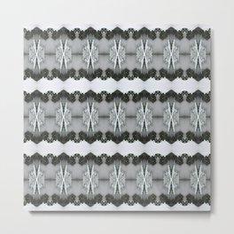 SnowLace Metal Print