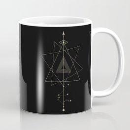 Aquarius Zodiac Constellation Coffee Mug