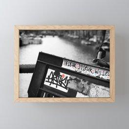 we are fun Framed Mini Art Print