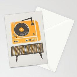 Vinyl Deck Stationery Cards