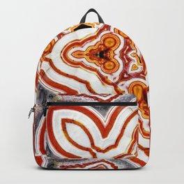India Print Backpack